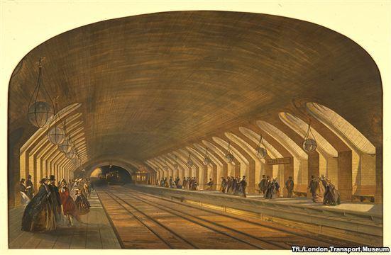متروی لندن ۱۵۰ ساله شد