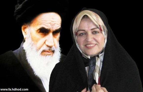 زهرا اشراقی نوه آیت الله خمینی:ایران در لبه پرتگاه قرار دارد