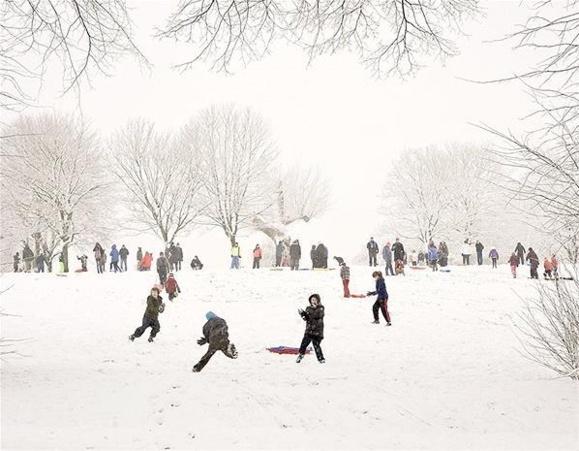 بارش برف در بریتانیا- گزارش تصویری