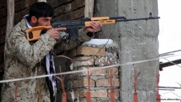حمله تروریستی به یک مرکز پلیس در کابل