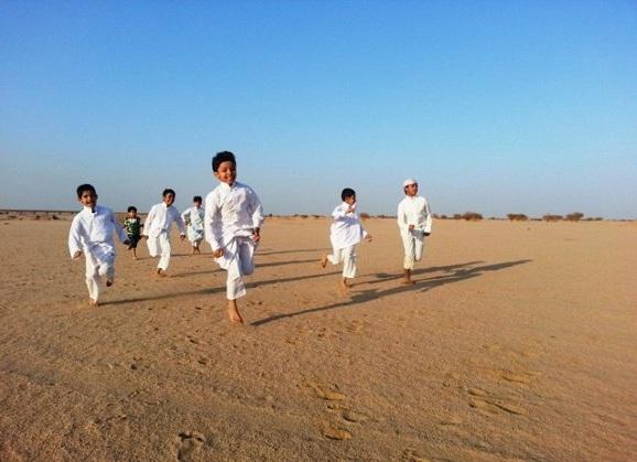 بازیهای محلی مردم عرب در روستای کریم آباد ( هندیجان)/ وفاء عبادی