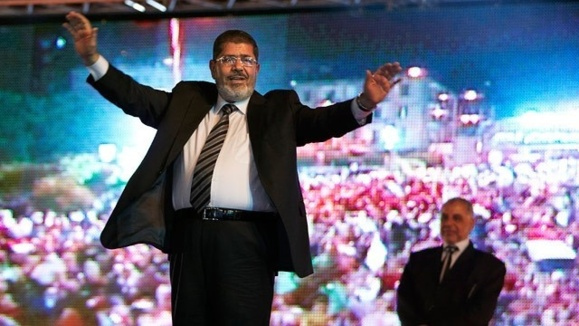 سفر کوتاه مدت محمد مرسی، رئیس جمهوری مصر، به آلمان