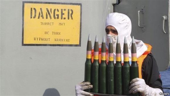 یمن: ۴۰ تن تسلیحات ارسالی ایران در کشتی توقیفی قرار داشت