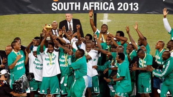 نیجریه قله فوتبال آفریقا را فتح کرد