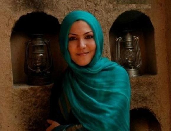 عکس آرشیوی سحر پرنیان بازیگر زن افغانی