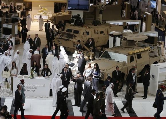 گشایش یازدهمین نمایشگاه جنگافزار در ابوظبی