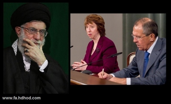 اشتون و لاوروف: ایران در مذاکرات اتمی انعطاف نشان دهد