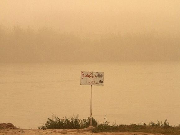 آلودگی هوا در اهواز-گزارش تصویری