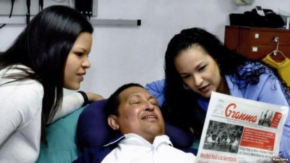هوگو چاوز درگذشت