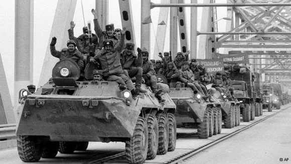 عقبنشینی نیروهای اتحاد شوروی از افغانستان در سال ۱۹۸۹