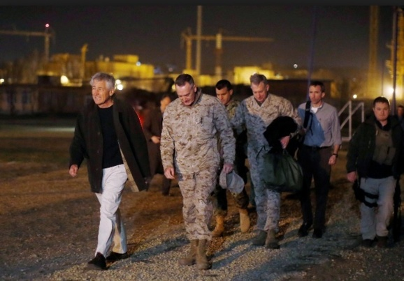 وقوع انفجار شدید همزمان با دیدار وزیر دفاع امریکا از کابل