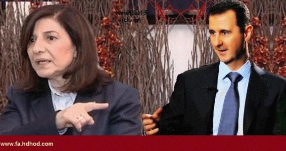 خانم بثینه شعبان،مشاور تبليغاتی بشار اسد از سوریه گریخت