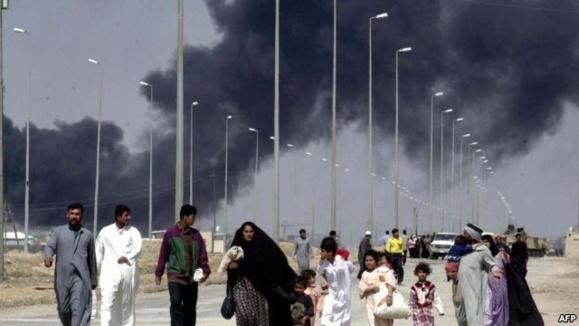 عراق؛انفجاریک خودروی بمب گذاری شده در شهر بصره 10 کشته و دهها مجروح برجای گذاشت
