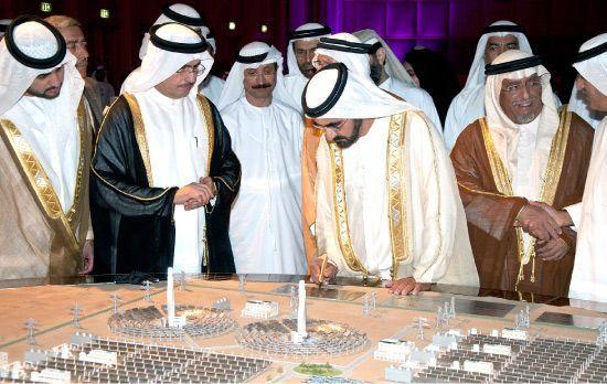بزرگترین نیروگاه خورشیدی جهان در امارات شروع به کار کرد