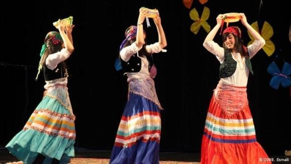جشن نوروزی در مدرسه ایرانی در آلمان