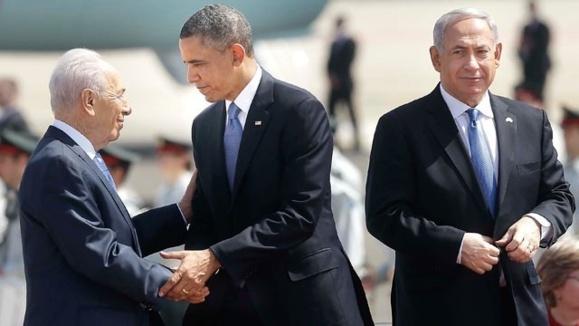 هشدار اوباما به ایران و سوریه در اولین سفر رسمی به اسرائیل