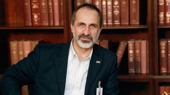 معاذ الخطیب، رهبر ائتلاف ملی سوریه از سمت خود استعفا کرد
