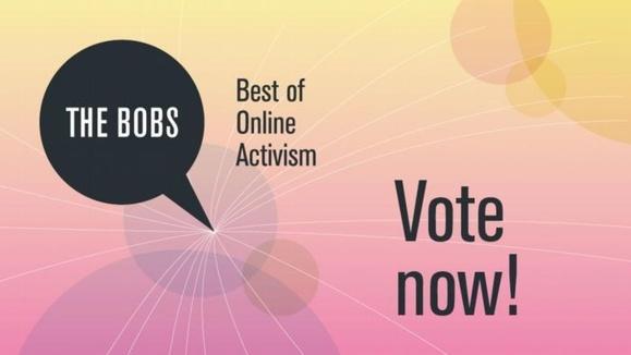 """آغاز رایگیری در جایزه بهترین فعالان آنلاین """"The Bobs"""""""