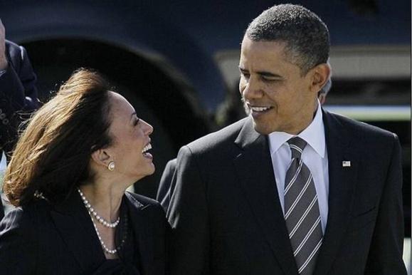 تعریف از قیافه خانم دادستان کل کالیفرنیا، کار دست باراک اوباما داد