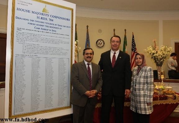 سازمان مجاهدین خلق دفتر «شورای ملی مقاومت» را در همسايگی کاخ سفيد افتتاح کردند