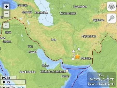 میزان خسارت زلزله 7.5 ریشتری در بلوچستان