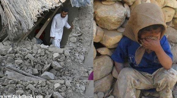 مرکز زلزله در بلوچستان ایران،تلفات در پاکستان!.