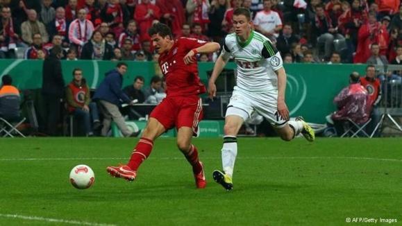 عبور قطار سریعالسیر بایرن مونیخ از جام حذفی فوتبال آلمان