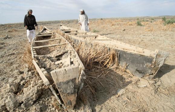 خشکی تالاب ها موجب کاهش 50 درصدی رطوبت حوزستان شده است
