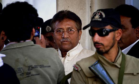 مشرف، رئیسجمهور پیشین پاکستان بازداشت شد