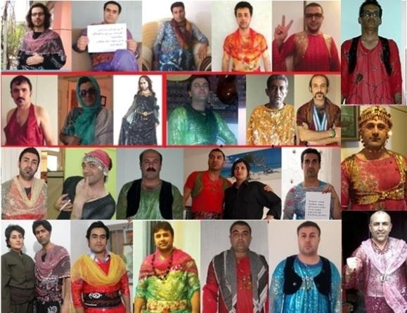 همگرایی کردها برای اعتراض به تحقیر زن کرد و لباس زنانه کردی