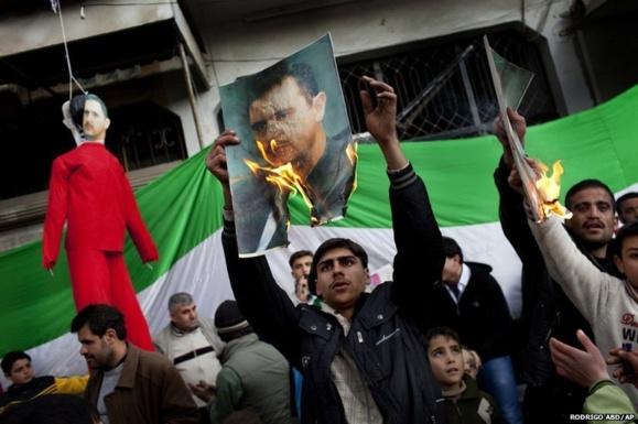 برکناری بشار اسد از قدرت مهمترین مطالبه مخالفان است