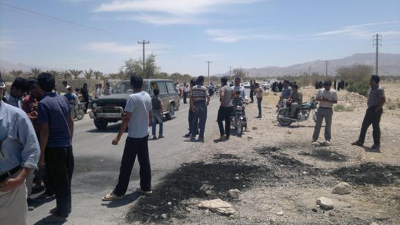 شروع اعتراضات مردمی در  استان هرمزگان جنوب ایران