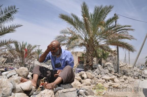 بوشهر همچنان می لرزد؛زمین لرزهای به بزرگی پنج و یک دهم ریشتر کاکی را به لرزه در آورد