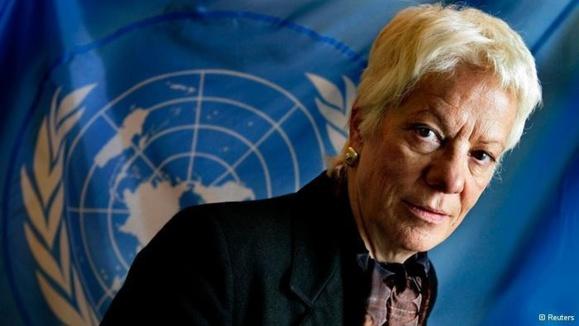 سخنان دروغین دلپونته  کارشناس ارشد سازمان ملل متحد در مورد کاربرد سلاح شیمیایی از طرف مخالفان سوری تکذیب شد