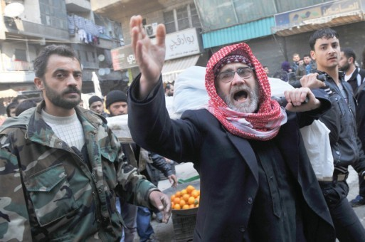 حملات سنگین و مشترک ارتش سوریه ،سپاه پاسداران و مزدوران حزبالله برای تسخیر شهر قصیر