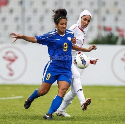شکست مردان و زنان دو تیم ملی فوتبال ایران در عمان و فیلیپین