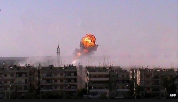 لوموند: حکومت اسد از سلاح شیمیايی استفاده کرده