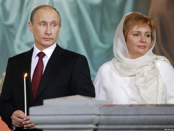 ولادیمیر پوتین و همسرش از یکدیگر جدا شدند