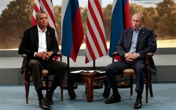 اختلاف بر سر سوریه در گفتگوهای سران آمریکا و روسیه