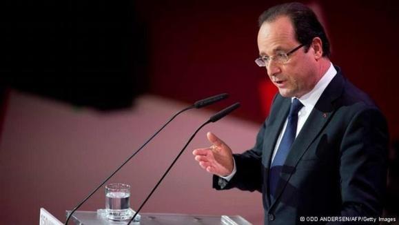 رئیس جمهور فرانسه: درهای کنفرانس سوریه به روی روحانی باز است