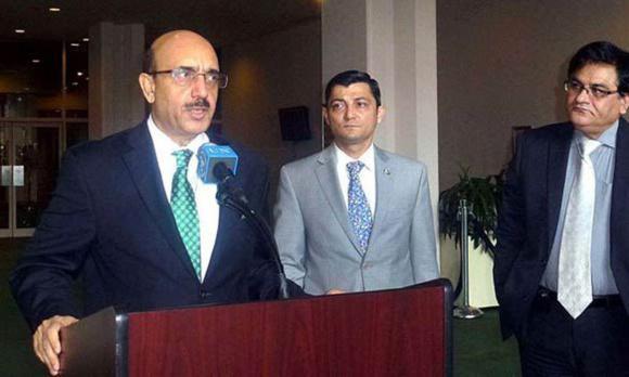 نمایندگان افغان و پاکستان در سازمان ملل در مورد حضور افراطیان اسلامی جنجال کردند