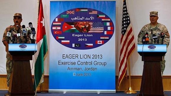 حضور نظامی آمریکا در اردن تقویت میشود