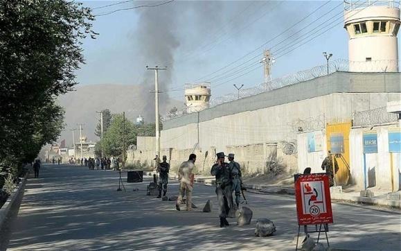 حمله مسلحانه گروه طالبان به کاخ ریاست جمهوری افغانستان