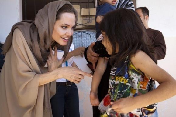 آنجلینا جولی:شورای امنیت سازمان ملل مسأله تجاوزهای جنسی در مناطق جنگی را جدی بگیرد