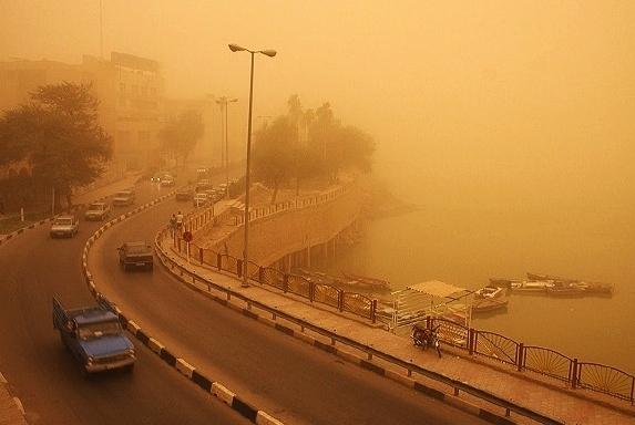 موج جدید سرطان ناشی از آلودگی هوا و  پدیده ریزگردها،اهوازیها در مرتبه اول