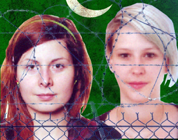 ویدیوی دو دختر ربوده شده چکی در پاکستان به نشر رسید