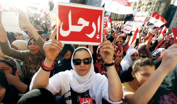 درگیریهای خونین میان هواداران و مخالفان مرسی در مصر