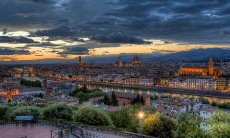 فلورانس یکی از زیباترین شهرهای دنیا