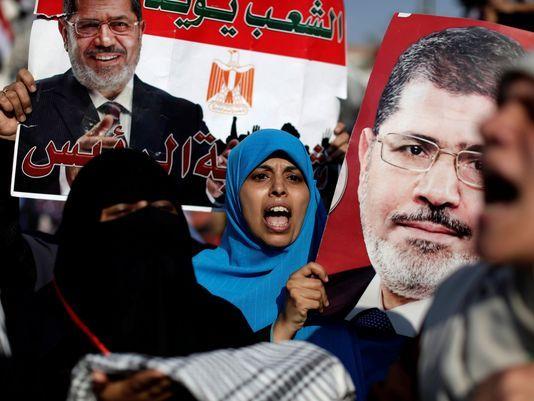 حامیان محمد مرسی بازگشت او به قدرت را خواستار شدند