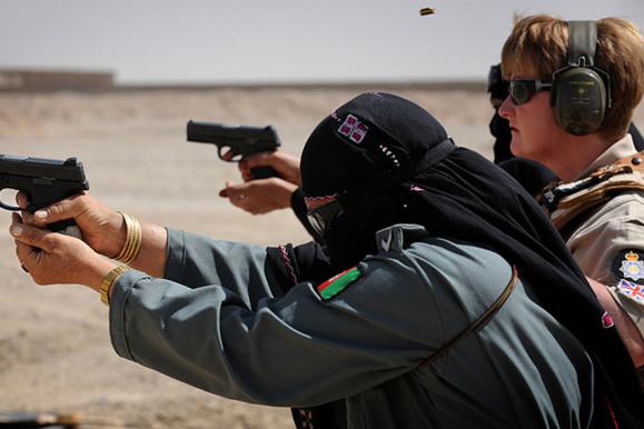 ترور یک افسر زن بلند مرتبه  در پلیس افغانستان